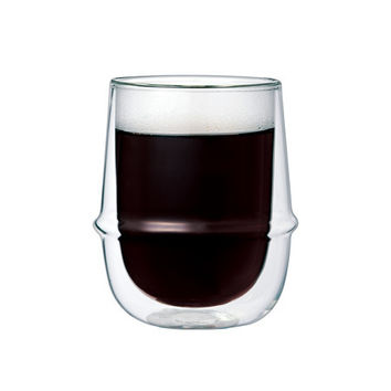 KINTO KORONOS DOUBLE WALL ESSPRESSO CUP 80 ML