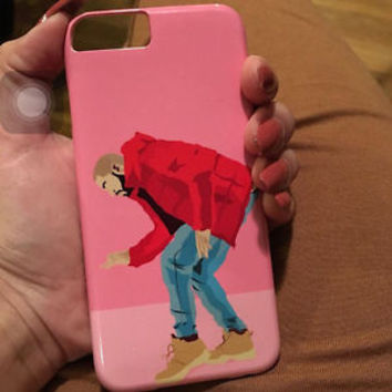 Drake Hotline Bling Video Illustration IPhone 5 6 Plus / Galaxy Case The Weeknd
