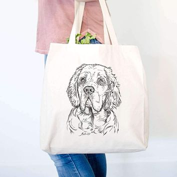 Gary the Clumber Spaniel - Tote Bag