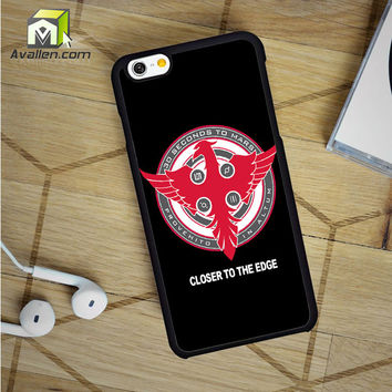 30 Seconds To Mars Closer To The Edge iPhone 6 Case by Avallen