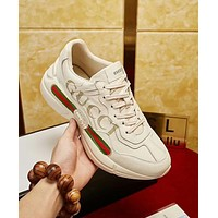 GUCCI High Quality Trending Women Men Stylish Sneakers Sport Shoes