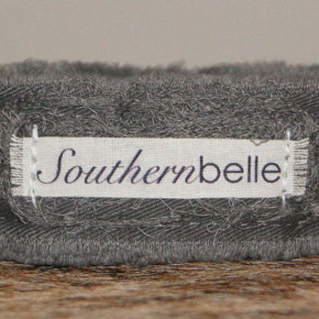 Southern Belle Southern Saying Personalized Bracelet Recycled Jewelry ID Bracelet Cuff Comfortable Fabric Bracelet