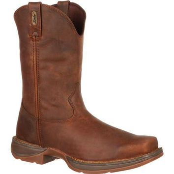 Rebel by Durango Brown Pull-On Western Boot