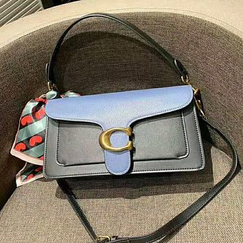 COACH High Quality Popular Women Leather Tote Satchel Crossbody Shoulder Bag