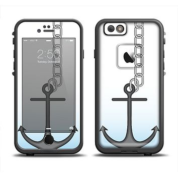 The Gray Chained Anchor Apple iPhone 6 LifeProof Fre Case Skin Set