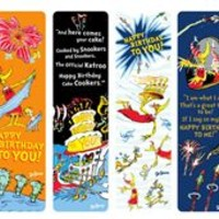 Dr. Seuss Happy Birthday Bookmark