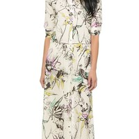 Roseanna Will Long Printed Dress
