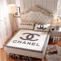 Chanel Collapsible - Ice mat - Three-piece - Single bed - Double bed Beige B-AA#-CBJF