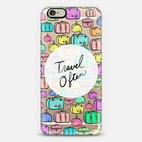 Travel Often (transparent) iPhone 6 case by Lisa Argyropoulos | Casetify