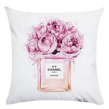 Flower Homer Decor Cushion Cover Throw Pillowcase Pillow Covers 45 * 45cm Sofa Seat Cushion Decorative Navidad