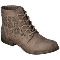 Target : Women's Mossimo Supply Co. Kessi Crochet Boot - Taupe : Image Zoom