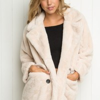 POPPY FUR COAT