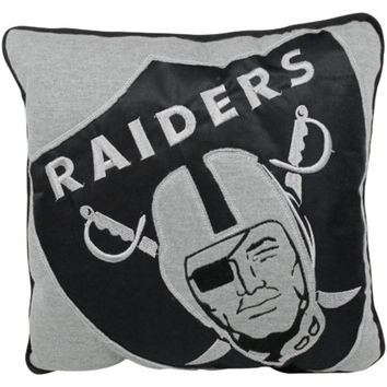 NFL - Oakland Raiders Big Logo Sweatshirt Pillow