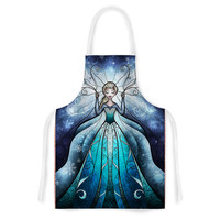 "Mandie Manzano ""The Snow Queen"" Frozen Artistic Apron"