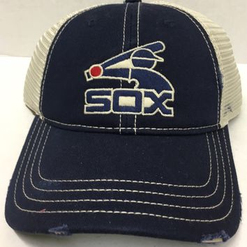 Chicago White Sox Recreational Mesh Back Hat By American Needle