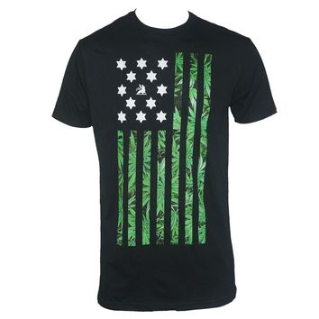 Authentic BOB MARLEY Rasta Nation Weed Pot Flag Black T-Shirt S-3XL NEW Printed Men  T Shirt Clothes top tee