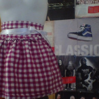 One of a kind plaid skirt