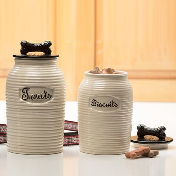 Global Amici PETigree 2-pc. Canister Set