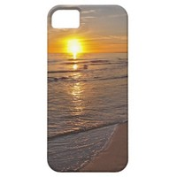 Case: Sunset by the Beach iPhone 5 Covers