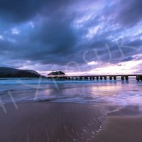 Moody Hanalei Pier | Hi Xposure Clothing and Photography