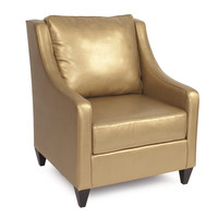 Shimmer Gold Side Car Chair