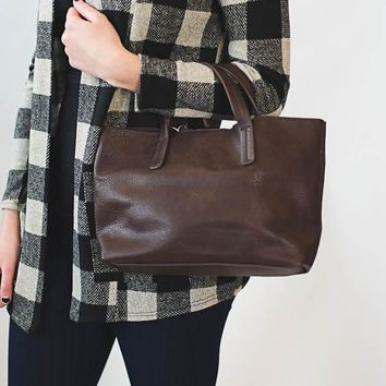 Kelsey Mini Tote - Chocolate