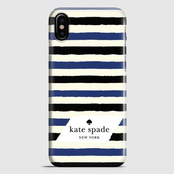 Kate Spade In Stripes iPhone X Case | casescraft