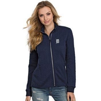 ESBON MLB Detroit Tigers Women's Destination Full-Zip Track Jacket