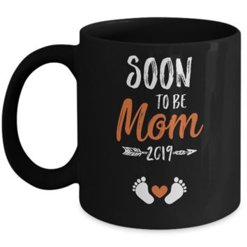 Soon To Be Mom EST 2019 Promoted New Mommy Mug