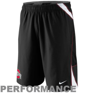 Nike Ohio State Buckeyes Replica Lacrosse Performance Shorts - Black