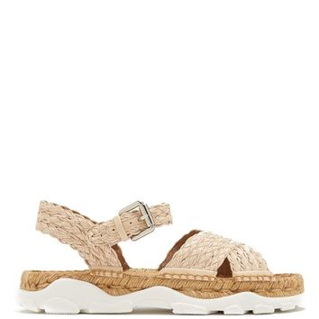 Woven-raffia espadrille sandals | Stella McCartney | MATCHESFASHION.COM US