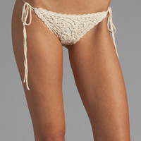 BEACH RIOT Nomad Bottom in Cream from REVOLVEclothing.com