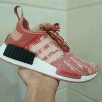 Beauty Ticks Adidas Boost Nmd R1 Pk Women Men Running Shoes By9648