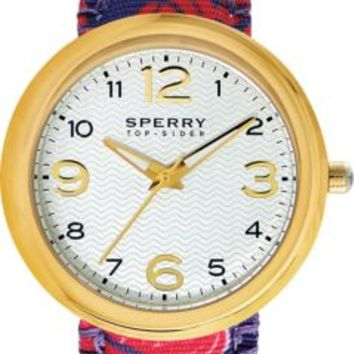 Sperry Top-Sider Floral Sandbar Watch Blue/RedFloral, Size One Size  Women's