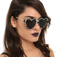 Daisy Heart Sunglasses