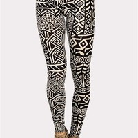 Tiki Lounge Legging - Beige at Necessary Clothing