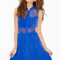 Picnic Lace Dress in  Clothes at Nasty Gal