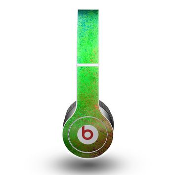 The Vivid Neon Colored Texture Skin for the Beats by Dre Original Solo-Solo HD Headphones