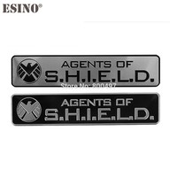 Car Styling Agent of Shield Resident Evil 3D Metal Chrome Aluminium Alloy 3D Emblem Badge Sticker Decal Auto Accessory