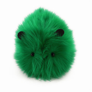 Holly the Bright Green Guinea Pig Stuffed Animal Plush Toy