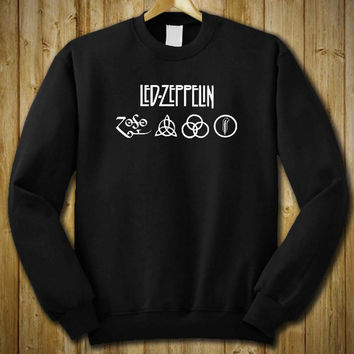Led Zeppelin Sweater Sweatshirt Shirt # Unisex Adult Size