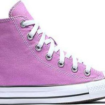 Converse Chuck Taylor All Star High Top Big Kid's Shoes Fuchsia Glow 155570f