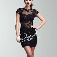 LOVE this Stretch Black Lace Dress
