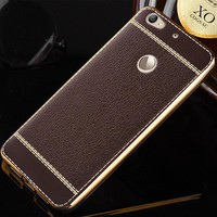 Plating Rose Gold Bumper Leather Skin Silicone Soft TPU Cover For ZTE Nubia Z11 Mini MiniS Max S Z17 N1 Case Mobile Phone Cases