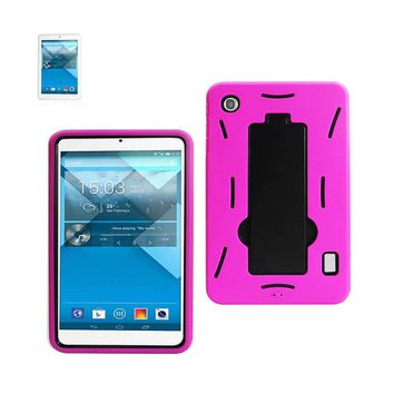 New Non Slip Case With Kickstand In Black Hot Pink For Alcatel One Touch Pop 7