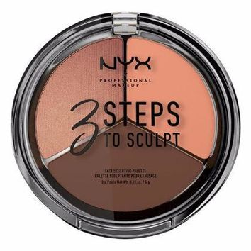 NYX 3 Steps Face Sculpting Palette - Deep - #3STS04