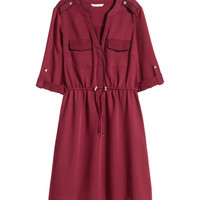Satin Dress - from H&M
