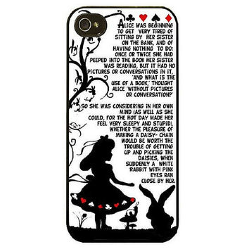 Alice in Wonderland Story Case for iPhone