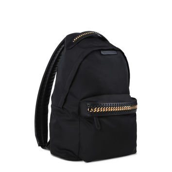 Black Falabella GO Backpack - Stella Mccartney