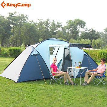 4-Person Family Camping Tents